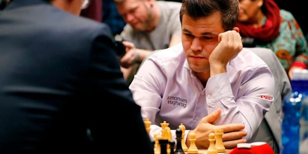 edw1 Magnus Carlsen fala sobre a prática moderna do xadrez