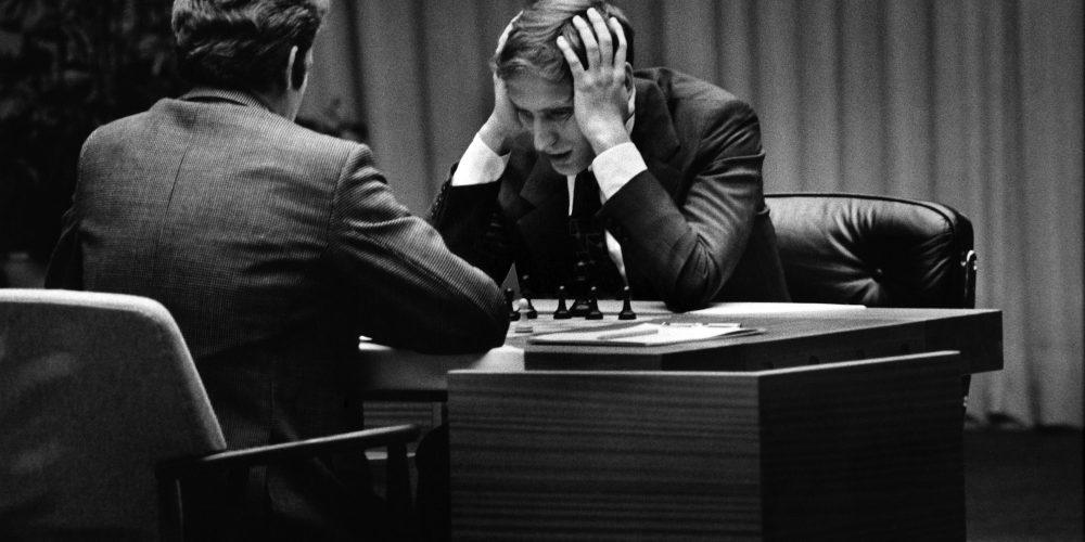 edw1 Série de partidas entre Bobby Fischer e Boris Spassky é marco do xadrez mundial