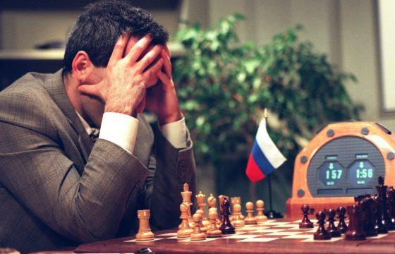 Kasparov versus Deep Blue: o cérebro contra o computador
