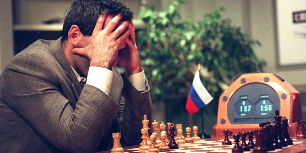 edw1 Kasparov versus Deep Blue: o cérebro contra o computador
